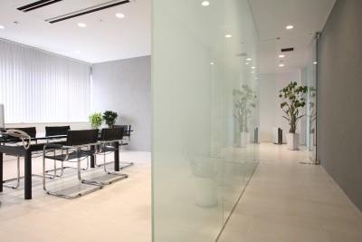 来客用スペースを明確にし、オフィスレイアウトを完成させよう